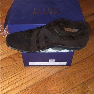 Stuart Weitzman Cola Suede sport woman's shoes.